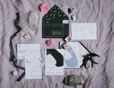 invitaciones trendy Foto meet me in the north para bodas de cuento