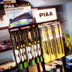 Display stand all the way from Japan. Thanks PIAA and TJM. #piaamalaysia #retail #display