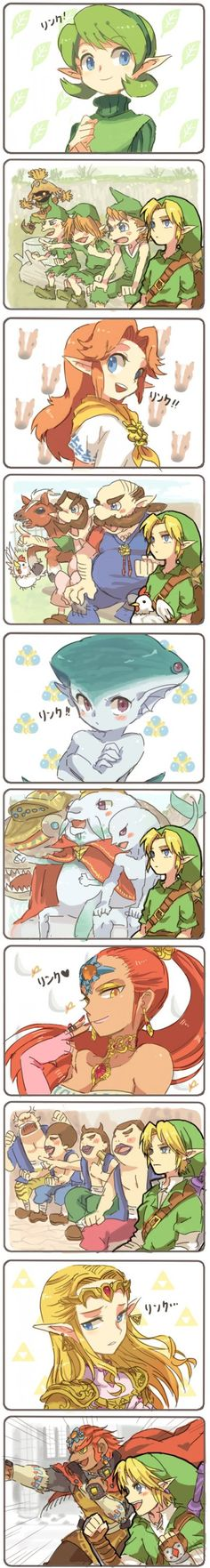 Who's the Prettiest Sage in Hyrule? #LegendofZelda