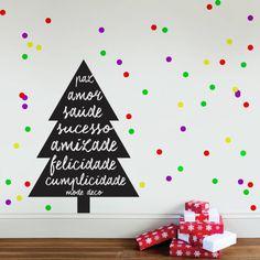 feliz natal - decoração mode deco