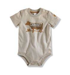 Carhartt Infant Boys Farm Raised Bodyshirt
