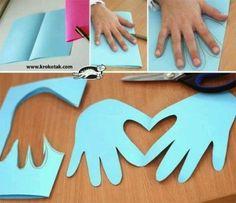 DIY kids Valentine idea