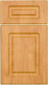 Vermont in Candlelight Thermofoil M and J Woodcrafts - Your Wholesale Cabinet Door Manufacturers