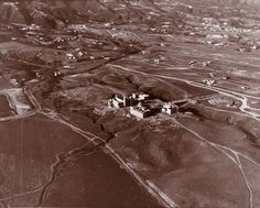 hail to the hills of westwood: royce, kinsey, haines, & powell in Ucla History, Ucla Alumni, Royce Hall, Ucla Bruins, History Images, Aerial View, Biology, Chemistry, Physics