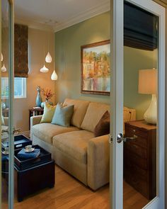 small den design ideas cute love the use of a small space