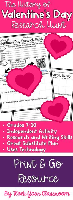 Close Reading Passages for Valentine\'s Day {Grades 4-8} | Text ...
