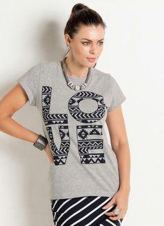 Gostei deste produto do Portal Posthaus! T-Shirt com Estampa Frontal