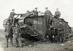"""""""Hoick-Halloa"""" photographed in the Spring of 1918 near Bus… 
