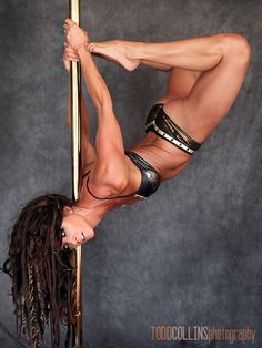 "http://damnnearnaked.com/ Damn Near Naked ""The Art of Feeling Naked in Your Clothes.""  Pole dance Zoraya Judd"