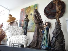 Create textured masterpieces using Powertex - the only fabric hardener you'll ever need! Get all the inspiration during their live shows on Hochanda! www.hochanda.com Sculpting, Art Ideas, Sculptures, Dreadlocks, Textiles, Live, Create, Hair Styles, Fabric
