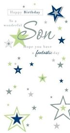 Picture of Relation Birthday Card - Son