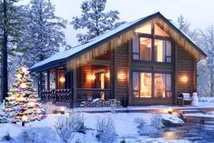 Cabins In The Woods, House In The Woods, My House, Cabin Homes, Log Homes, A Frame House Plans, House In Nature, Home Additions, Rooms Home Decor