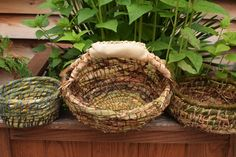 Coil Basket Weaving with Katie Grove at White Barn Farm (Gardiner, NY)