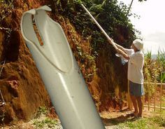 This innovative berry-picking device helps you grab onto things in hard to reach places! Berry Picker Done with berry-picking? Learn how to drink them with booze.