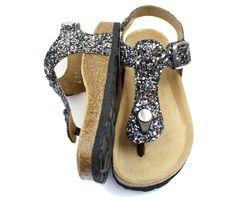 Petit by Sofie Schnoor sandal grå glimmer   P171605 grey glitter   str. 28-37   499,90.-