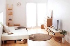 【1R】狭い部屋のレイアウト・インテリア画像集【1K】 - NAVER まとめ