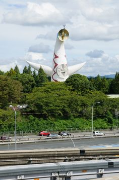 Tower of the Sun by Taro Okamoto in Expo'70 Park, Osaka, Japan 太陽の塔