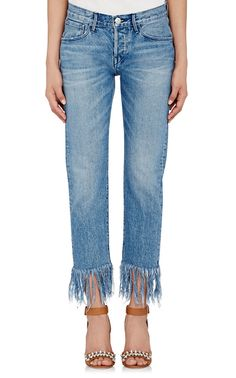 3x1 Straight Crop Jeans | Barneys New York