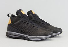 Nike Lunarfresh Sneakerboot QS (Black & Ale Brown)