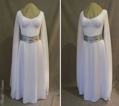 An amazing reproduction of Princess Leia's Ceremony Dress - from Brielle's Costume Wardrobe