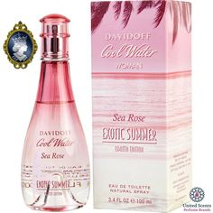 Just launched! Davidoff Cool Water Sea Rose Exotic Summer for Her 100ml/3.4oz Women EDT Spray http://perfumebrands.net/products/davidoff-cool-water-sea-rose-exotic-summer-for-her-100ml-3-4oz-women-edt-spray?utm_campaign=crowdfire&utm_content=crowdfire&utm_medium=social&utm_source=pinterest