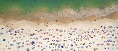 The photographer shares the inspiration behind his aerial beach shots.