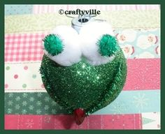 How to make a frog christmas ornament Christmas Crafts, Christmas Decorations, Christmas Ornaments, Holiday Decor, Frog Ornaments, Awesome, Girls, How To Make, Ideas