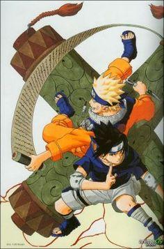 Naruto art by Masashi Kishimoto