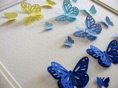 Sample 3D Layered Butterfly Art. YOU CHOOSE by aboundingtreasures, $30.00