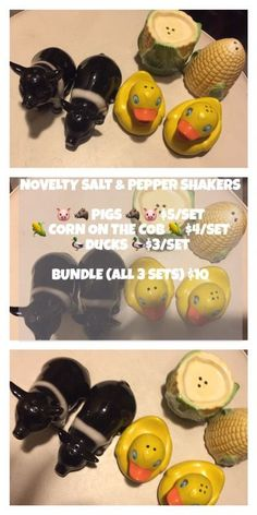 NOVELTY SALT & PEPPER SHAKERS ( Collectibles ) in Coral Gables, FL - OfferUp