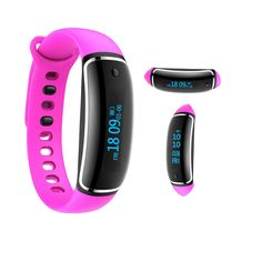 Kobwa Heart Rate Monitor Fitness Tracker Watch, Kobwa IP67 Waterproof Smart Bluetooth 4.0 Activity Tracker With Steps Tracker, Cycling Mode And Calls Messages Vibration For IOS Andriod. *Suitable for IOS8.0 or above & Andriod4.0 or above; Bluetooth 4.0, when you open APP, the Bluetooth will connect automatically. You can switch between 12h and 24h; switch between metric and imperial. The special feature is the you switch Caption Display in OLED screen between vertical to Horizontal....