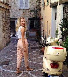 Pastel pants, so cute! weekendinhavana on Etsy