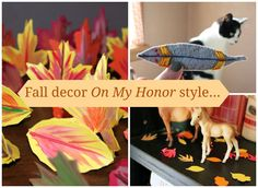 On my honor//DIY Fall decor