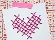 DIY | Valentijnskaart #zelfmaken #diy #zelfmakenmetflair