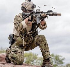 NAVY SEAL - this is what I think I look like when I'm shooting. Not even close though. A girl can dream ;)