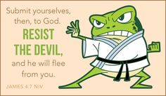 Resist the Devil Animals eCards - Free Christian Ecards Online Greeting Cards