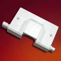 Junction box used to hardwire two runs simulataneously    Amperage: 7 Amps Max.    Compatibility: Ultra Slim T5 Fluorescent (NULS Series) & Class II LED Drivers (NATL-530HW & NATL-560HW)    Includes: (1) Male to male connector, (1) female to male connector, and mounting screws.    UL Listed  Regular price: $16.50  Sale price: $11.50