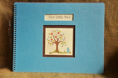 LGBT, Adoptive, Single, Straight, Lesbian, Gay, Same Sex Customizable Baby Book! Bird and Tree theme.