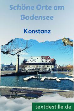 Kommt mit mir auf eine Tour zu den Sehenswürdigkeiten in Konstanz am Bodensee. Die Stadt hat eine wunderschöne mittelalterliche Altstadt und viel Geschichte, Kultur und Museen zu bieten. #textdestille Movies, Movie Posters, Beautiful Hotels, Bike Rides, Films, Film Poster, Cinema, Movie, Film
