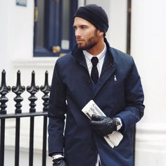 winter is ending but for next year // menswear, mens style, fashion, blue, navy, tie, suit, winter, fall, layers