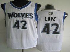 a14c97bf1 minnesota timberwolves cheap nba 42 white kevin love jersey Cheap Football  Shirts