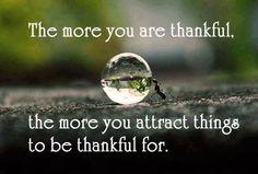 a grateful mindset - True Image's Musings