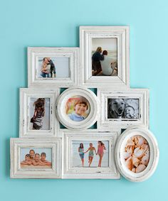 Do --- Another great find on #zulily! White Newport Collage Frame by Shiraleah #zulilyfinds