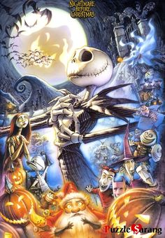 Disney/Tim Burton Nightmare Before Christmas Jack Skellington Art Tim Burton, Tim Burton Kunst, Film Tim Burton, Tim Burton Artwork, Disney Love, Disney Art, Animation, Images Disney, Fröhliches Halloween