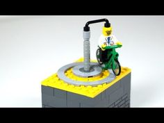Easy LEGO Kinetic Sculpture 2 - includes Tutorial - YouTube