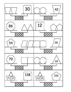Pan balance problems - 15 Worksheets | Printable ...