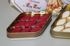 Calissons du Roy René Aix en Pce #calisson #aixenprovence #provence Aix En Provence, Container, Food, Essen, Meals, Yemek, Eten