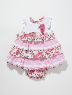 Multi Frill Dress Set by Beetle Baby at Gilt