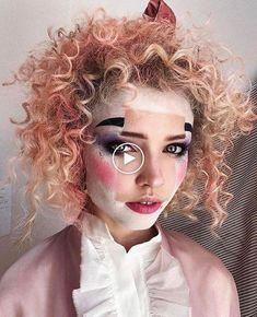 Visage Carré: Les Images #maquillageinspiration #ideesdemaquillage #maquillagefaciles