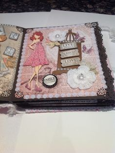 Page #8 in my prima doll book designs by creativewayz